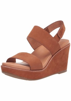 Gentle Souls Women's Hope Slingback Wedge Platform Sandal