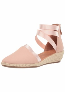 Gentle Souls Women's Noa-Beth Closed Toe Wedge Espadrille Sandal   M US