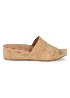Gentle Souls Judith Cork Wedge Slides