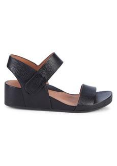 Gentle Souls Judith Leather Wedge Sandals
