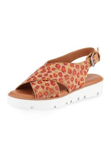 Gentle Souls Kiki Flower Cork Comfort Sandals