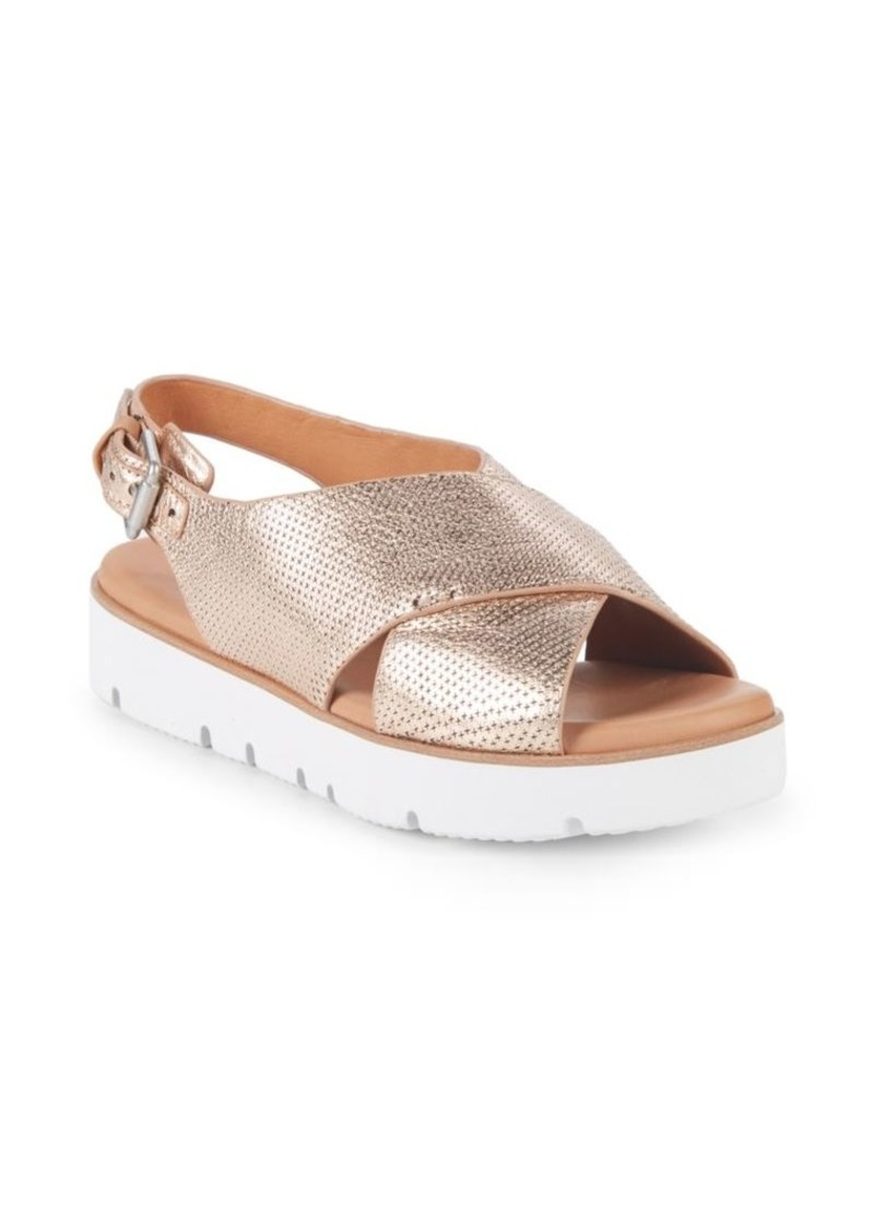 373a5f734952 Gentle Souls Kiki Leather Platform Sandals