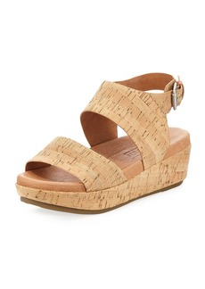 Gentle Souls Lori Cork Comfort Wedge Sandal