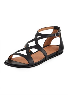 Gentle Souls Oak Flat Comfort Sandals