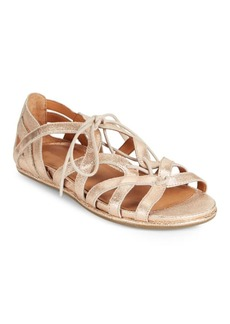 Gentle Souls Oona Lace-Up Leather Sandals
