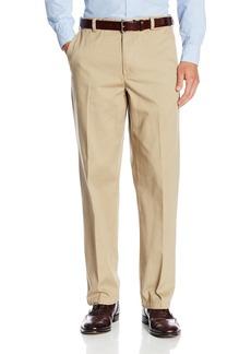 Geoffrey Beene Men's 100% Cotton Chino Flat Front Extender Pant  36x30