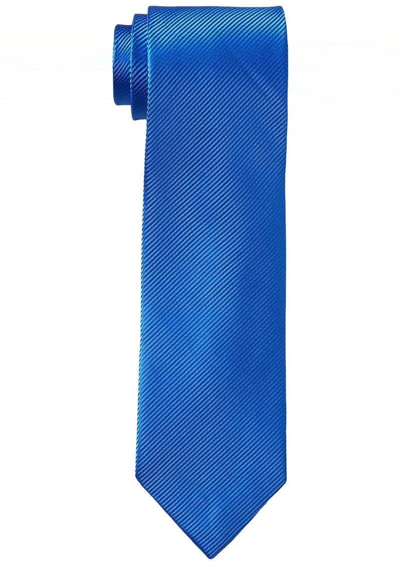 Geoffrey Beene Men's Bias Stripe Solid Tie