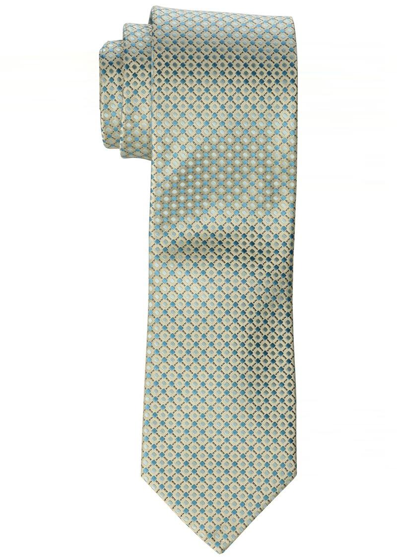 Geoffrey Beene Men's Big-tall Big-tall All Day Neat Extra Long Tie