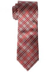 Geoffrey Beene Men's Big-tall Big-tall Heather Grid Extra Long Tie