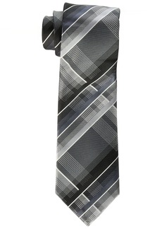 Geoffrey Beene Men's Fearless Plaid Tie black One Size