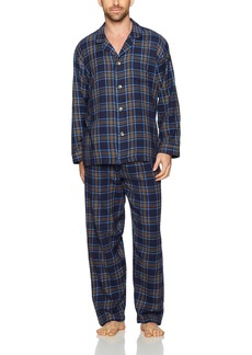 Geoffrey Beene Men's Flannel Pajama Set