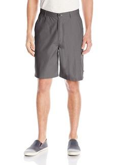 Geoffrey Beene Men's Linen Cotton Yarn Dye Stripe Short
