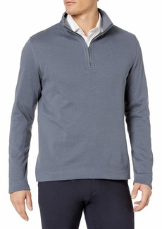 Geoffrey Beene Men's Long Sleeve Stretch Twill 1/4 Zip Pullover