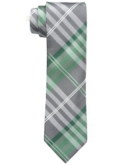 Geoffrey Beene Men's Petros Plaid II Tie  One Size