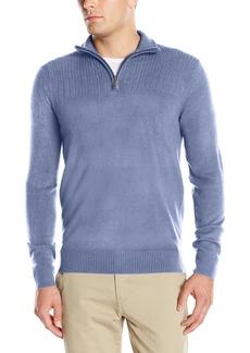 Geoffrey Beene Men's Quarter Zip Sweater  XXL