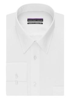 "Geoffrey Beene Men's Regular Fit Textured Stripe Sateen  Shirt "" Neck 36""-37"" Sleeve"