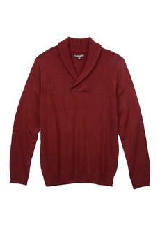 Geoffrey Beene Men's Shawl Collar Sweater  L