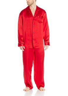Geoffrey Beene Men's Silk Pajama Set