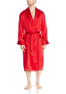 Geoffrey Beene Men's Silk Shawl Collar Robe