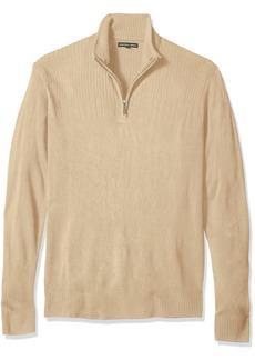 Geoffrey Beene Men's Size Tall-Quarter Zip Sweater  2XLT