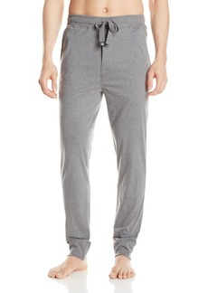 Geoffrey Beene Men's Speckled Knit Jogger Lounge Pant