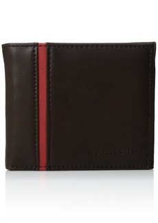 Geoffrey Beene Men's Stitched Bifold Wallet
