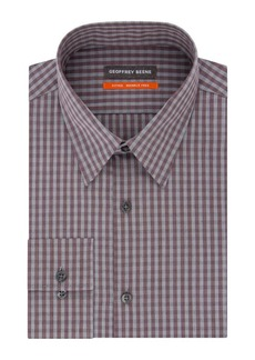 Geoffrey Beene Striped Fitted Dress Shirt