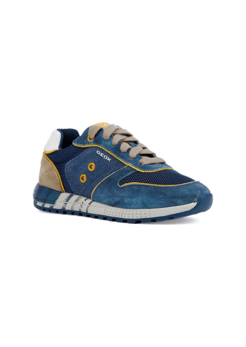 Geox Alben 12 Sneaker (Toddler, Little Kid & Big Kid)
