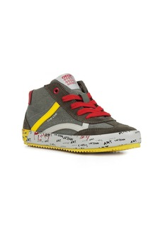 Geox Alonisso 34 High Top Sneaker (Toddler, Little Kid & Big Kid)