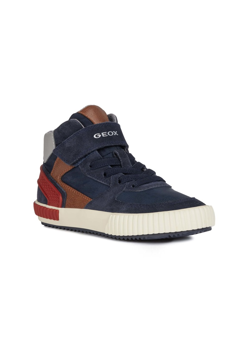 Geox Alonisso 38 High Top Sneaker (Toddler, Little Kid & Big Kid)