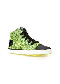 Geox Alonisso Knit Mid Top Sneaker (Toddler, Little Kid & Big Kid)