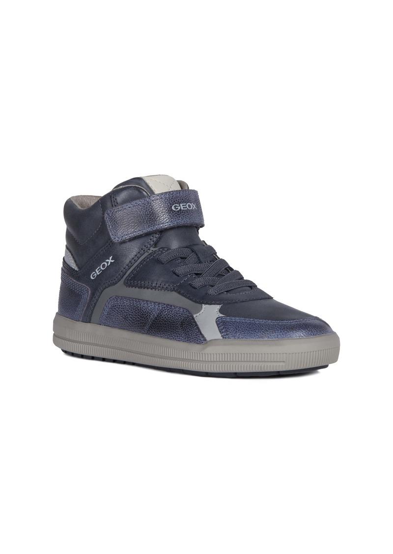 Geox Arzach 15 High Top Sneaker (Big Kid)