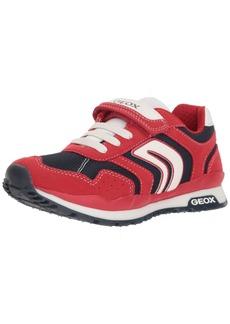 Geox Boys' Pavel 18 Sneaker red/Navy