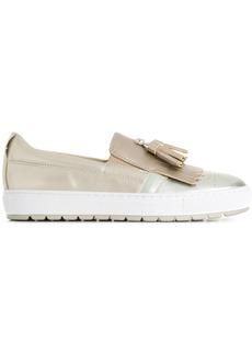 Geox Breeda slip-on sneakers - Metallic