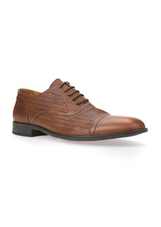 Geox Bryceton Textured Cap Toe Oxford (Men)
