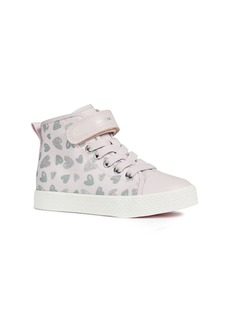 Geox Ciak High Top Glitter Sneaker (Toddler, Little Kid & Big Kid)