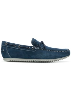 Geox classic bow loafers - Blue