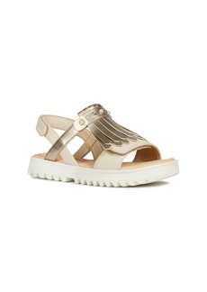 Geox Coralie Metallic Sandal (Toddler, Little Kid & Big Kid)