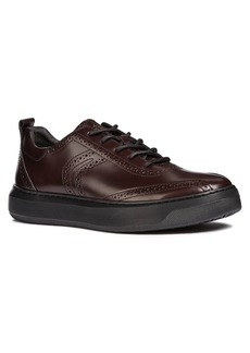 Geox Deiven 10 Brogued Low Top Sneaker (Men)