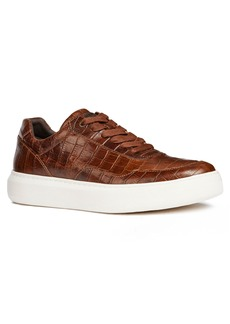 Geox Deiven 8 Croc Textured Low Top Sneaker (Men)