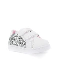 Geox DJ Rock Glitter Low Top Sneaker (Walker & Toddler)