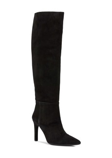Geox Faviola Suede Knee High Boot (Women)