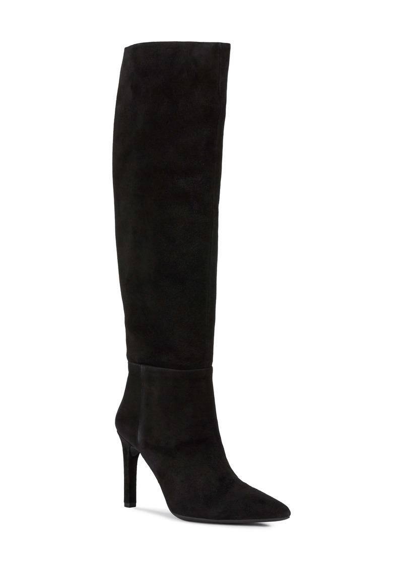 Geox Faviola Suede Knee High Boot (Women)