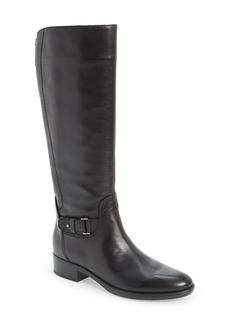 Geox 'Felicity' Adjustable Shaft Tall Riding Boot (Women)