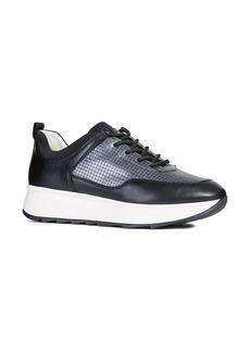 Geox Gendry Embossed Wedge Sneaker (Women)