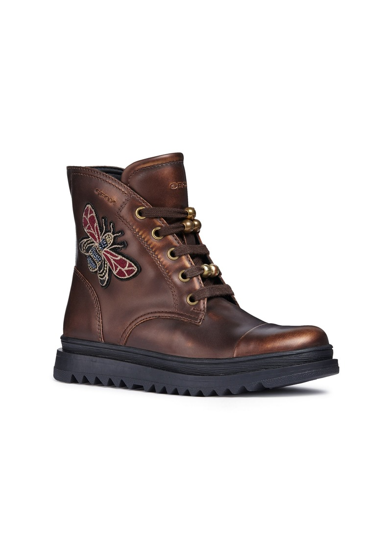 Geox Gilly Jaw 2 Lace-Up Boot (Little Kid & Big Kid)