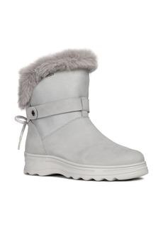 Geox Hosmos ABX Waterproof Faux Fur Trim Boot (Women)