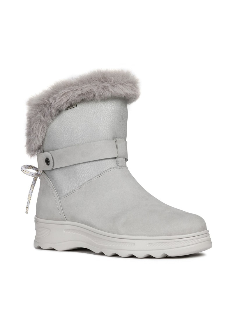 Geox Hosmos ABX Waterproof Faux Fur Trim Boot (Women)