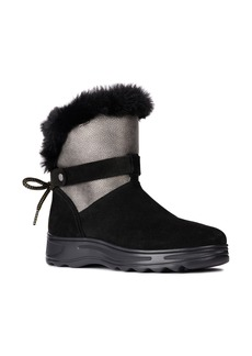 Geox Hosmos Faux Fur Trim Boot (Women)