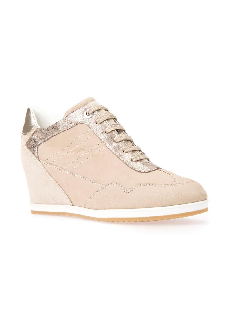 Geox Illusion 34 Wedge Sneaker (Women)